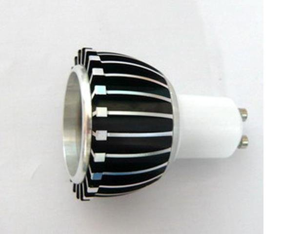 GU10 1*3W led spot light with 85 to 265V AC Input;120lm,large stock;please advise the color you need;P/N:XL-SPGU10WW1PAC-1F