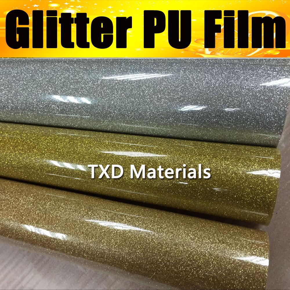 High quality Glitter PU transfer vinyl for Tshirts with size:50CMX25M/Roll, Transfer PU GLITTER vinyl for garments(China (Mainland))