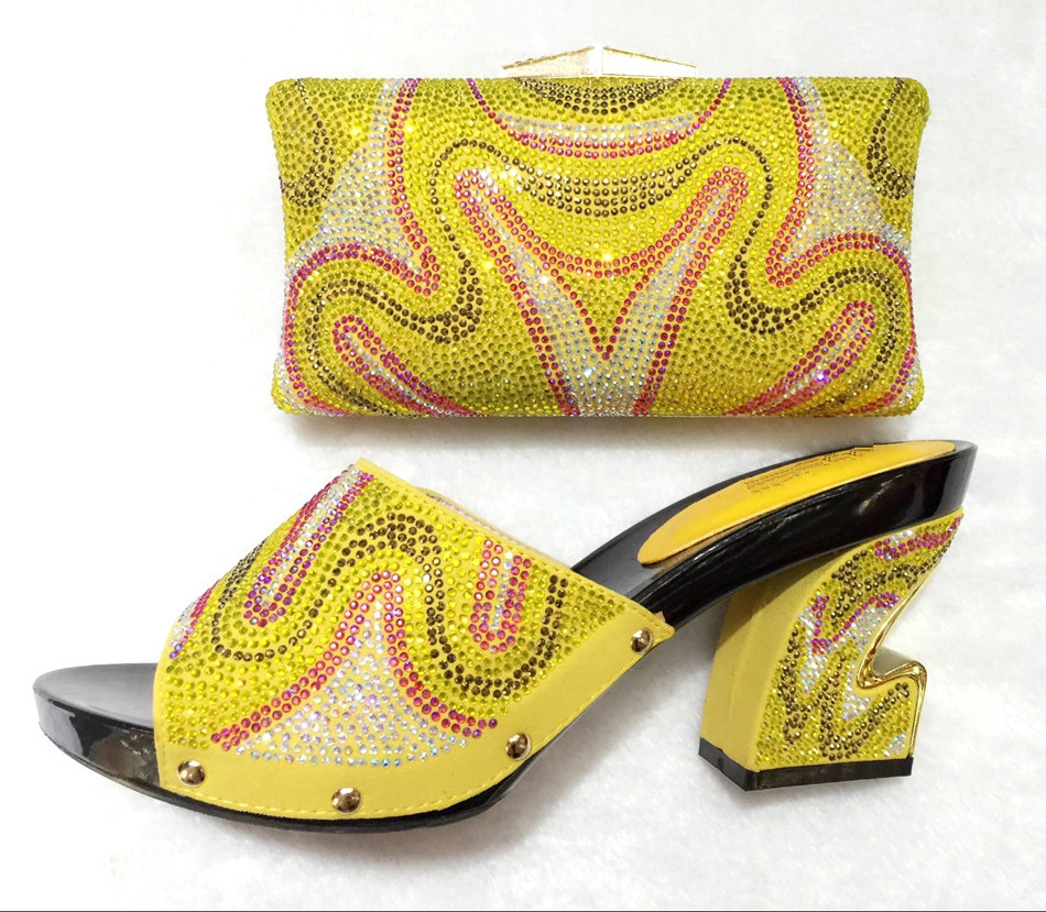 YZ05!!Nice Looking African Stone Sandals And Matching Bags Set High Quality Italian Matching Shoes And Bag(China (Mainland))