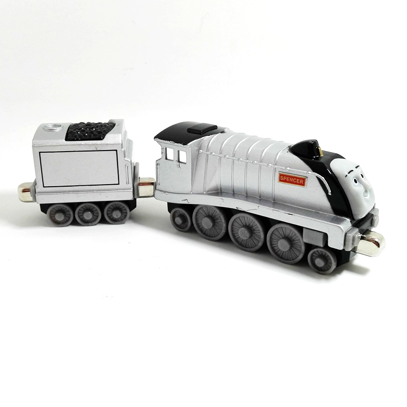 T0064 Diecast Magnetic THOMAS and friend The Tank Engine take along train metal children kids toy gift Spencer(China (Mainland))