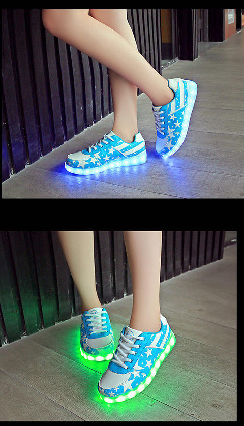 wholesale Usb Luminous Sneakers tenis Led Slippers men's Krasovki schoenen glowing sneakers Led simulation Basket Shoes