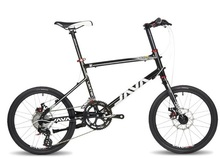 JAVA CL-16S-D 20 Inches Bike,16 Speeds, Aluminum Alloy Body. Both Mechanical Disc Brake.(China (Mainland))