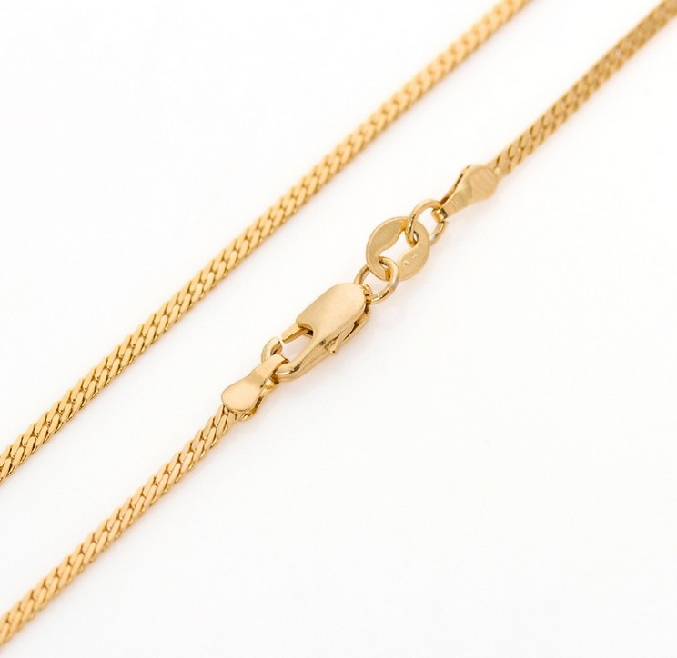 thick for italian is a this made high quality lightweight classic box plated sizes chains and necklace all in gold it itm approximately pendants that thin very to comfortable wear chain