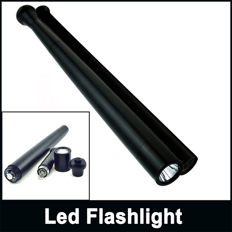 Zk40 led tactical flashlight cree q5 3 model safety long