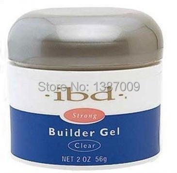 1Pcs Acrylic Nail Art UV Gel nail saloon profesional nail art IBD Builder Gel 2oz / 56g clear one nails & tools(China (Mainland))