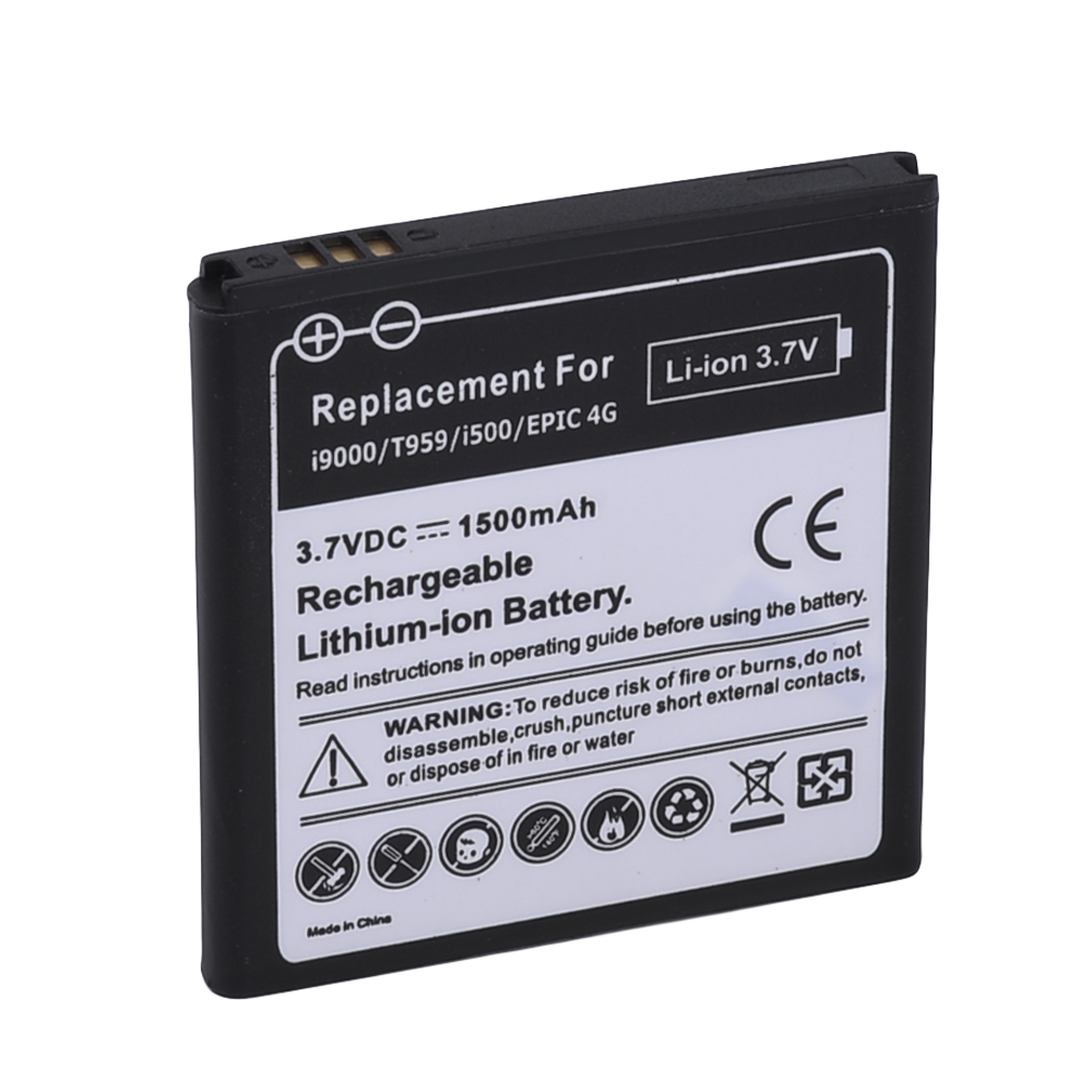 Гаджет  3.7V 1500mAh Li-ion Battery for Samsung i9000 None Бытовая электроника