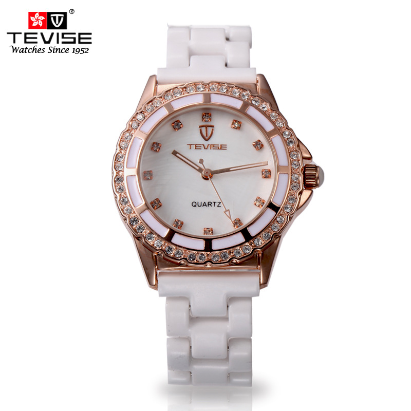 Hong Kong Twiss positive brand watch female form ceramic Miss Shi Ying Korean fashion diamond ladies watch waterproof genuine<br><br>Aliexpress