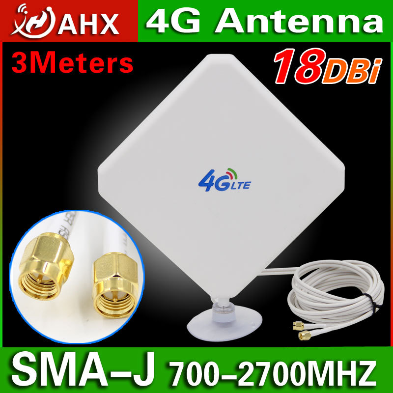35dBi 4G Antenna EXTERNAL LTE WIFI SMA Antenna Signal Booster Connector for HUAWEI B593 B890 B880 4G Antenna(China (Mainland))