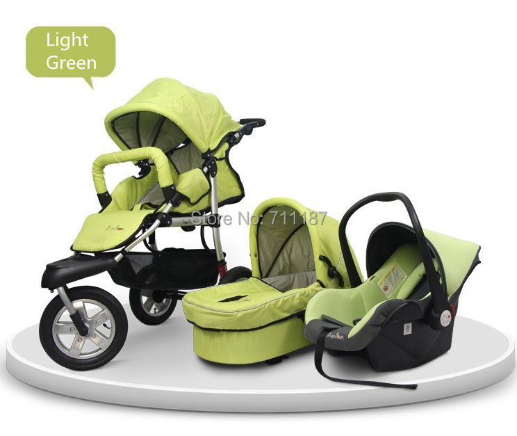 All In One Baby Car Seat Stroller - Seat
