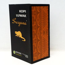 Top Quality 100g Indonesia suryana Kopi Luwak coffee beans Baking charcoal roasted Original green food the