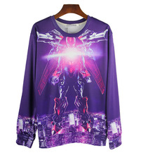 Hot  sale  new spring men /women transformers  robot  pattern  3d long sleeve  hoodies&sweatshirt