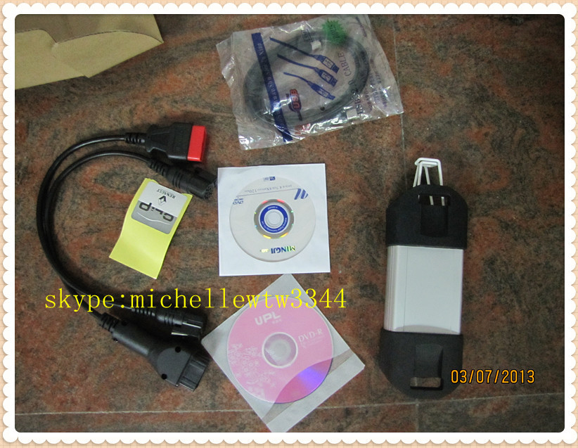 2013 professional auto diagnostic tool v120 Renault Can Clip interface can clip scanner(China (Mainland))