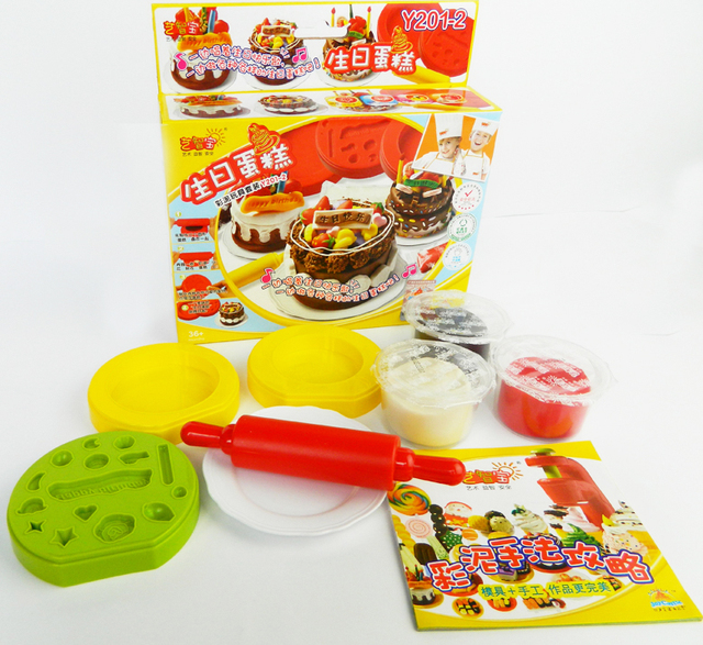 3d dough set plasticine mould tools