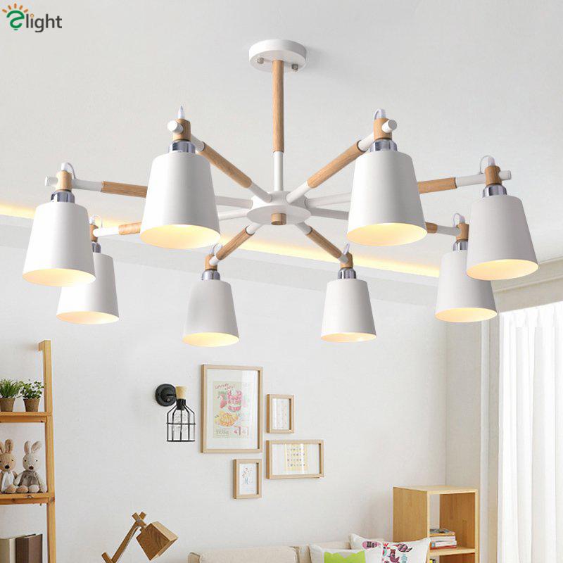 Online get cheap white chandelier shades alibaba group - White chandelier with shades ...