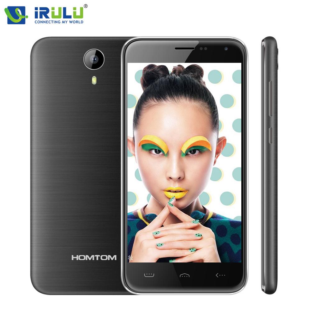 "iRULU Homtom HT3 Mobile Phone 5.0"" MTK6580 Quad Core Android 5.1 Smartphone 1GB RAM 8GB ROM 5MP Dual SIM 3G WCDMA 3000mAh(China (Mainland))"