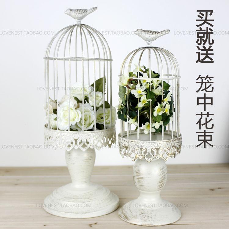 Jaulas Decoracion Comprar ~  blanco jaulas de aves decorativas candelero bodas decoraci?n jaula