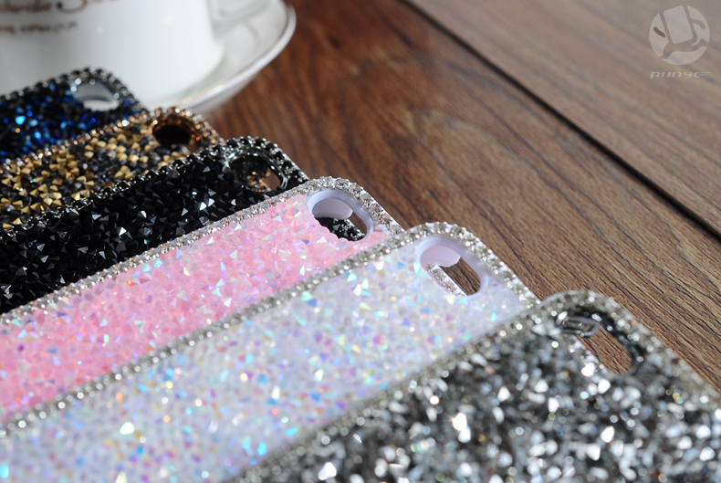 32 1pcs 4.7 inch Case For iphone6 case for iphone6 plus 5.5 inch Hot Fashion Luxury Diamond Flashing Cell Phone Cases Covers For apple iphone 6 case iphone 6 plus case accessories