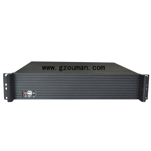 2u rackmount industrial chassis CCTV server case(China (Mainland))