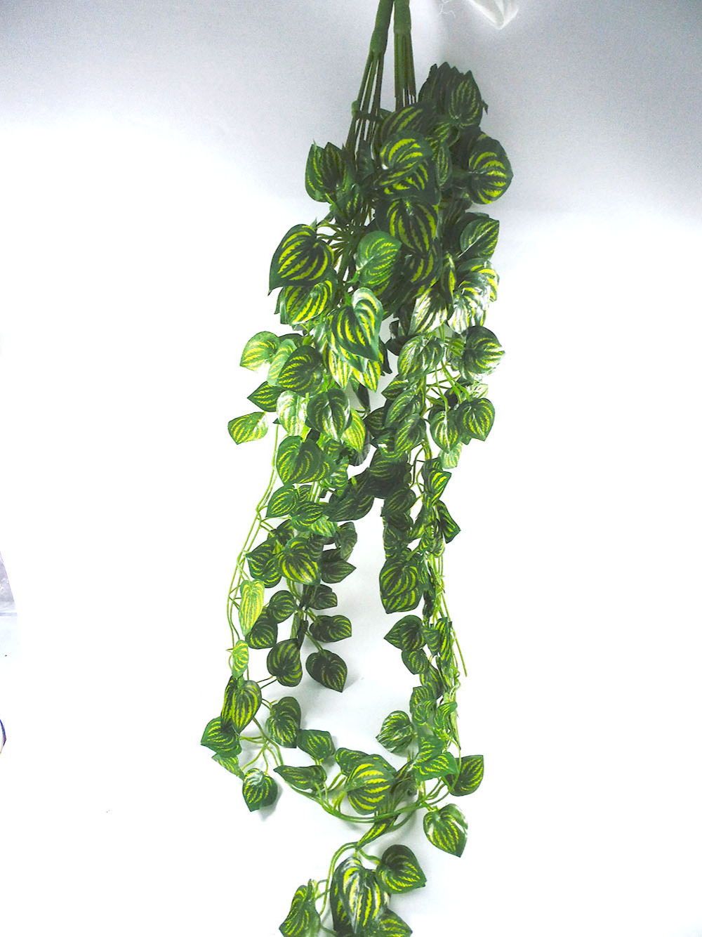 2pc/lot Artificial Leaves 87cm Watermelon Flower Vine Rattan Home Decorative Wreaths Display Party Wedding Decor Plants(China (Mainland))