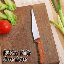 Home Kitchen Knives Butcher Knife And Accessories Set Fruit Utility Chef Peeler Dining Bar Wood Handle Cooking Tools Gadgets