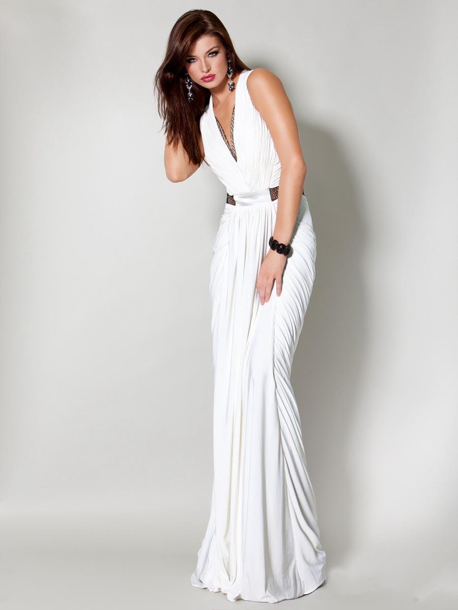 Купить Вечернее Длинное Белое Платье