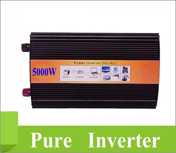 Doubel Digital Display 5000W Peak 10000W Pure Sine Wave Power Inverter Converter 12V DC to 220V / 230V / 240V AC<br><br>Aliexpress