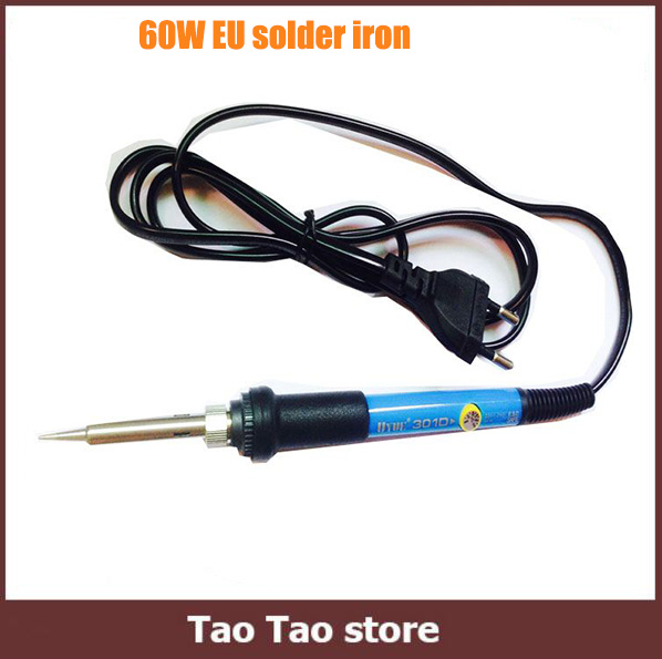 high quality uyue 301d 60w 220v eu electric adjustable temperature welding solder soldering iron. Black Bedroom Furniture Sets. Home Design Ideas