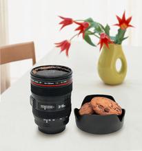 2014 New Caniam SLR Camera Lens Cup 24-105mm 1:1 Scale Plastic Coffee Tea Cup MUG 400ML Creative Cups and Mugs(China (Mainland))