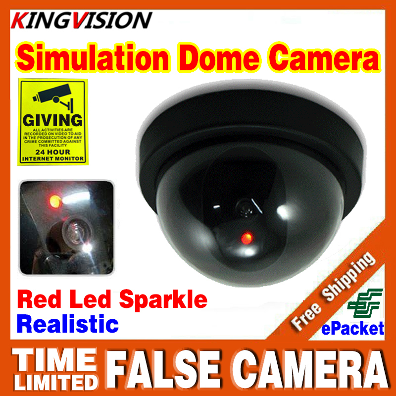 2016sale Indoor Outdoor Surveillance Dummy Fake Dome Camera Ir Led Wireless Home CCTV Security Simulated monitoring equipment(China (Mainland))