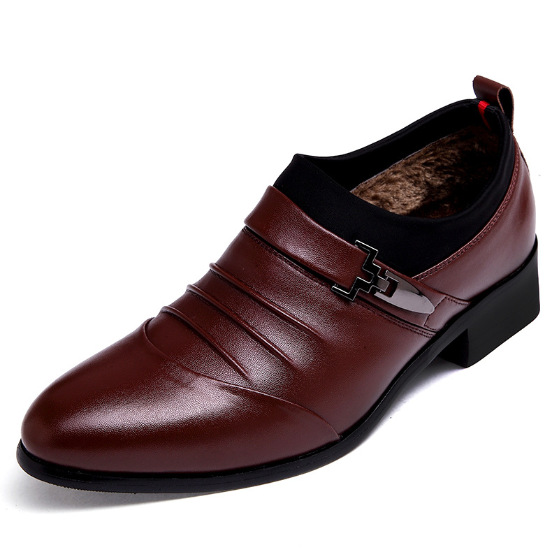 new pointy dress shoes business in autumn and winter
