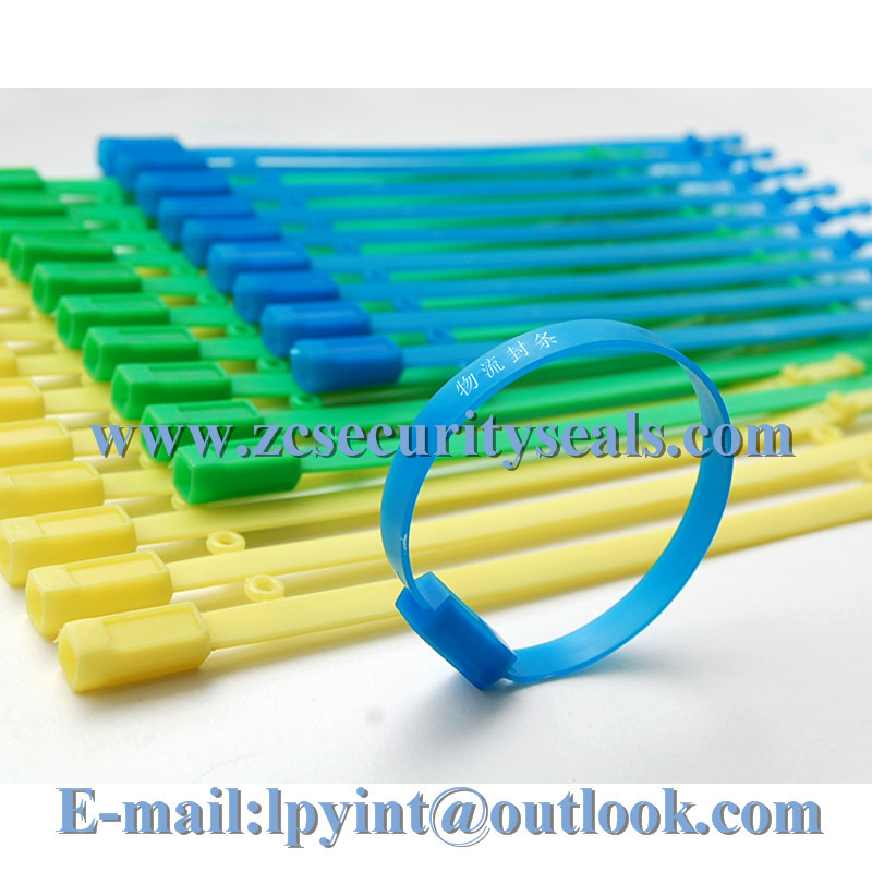 high security plastic container seal,plastic seal bag,fixed length ties1000pcs(China (Mainland))