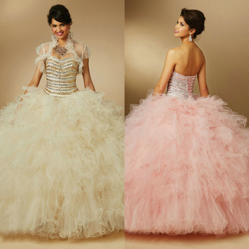 Style 89046 Puffy Quinceanera Dresses Light Purple ...