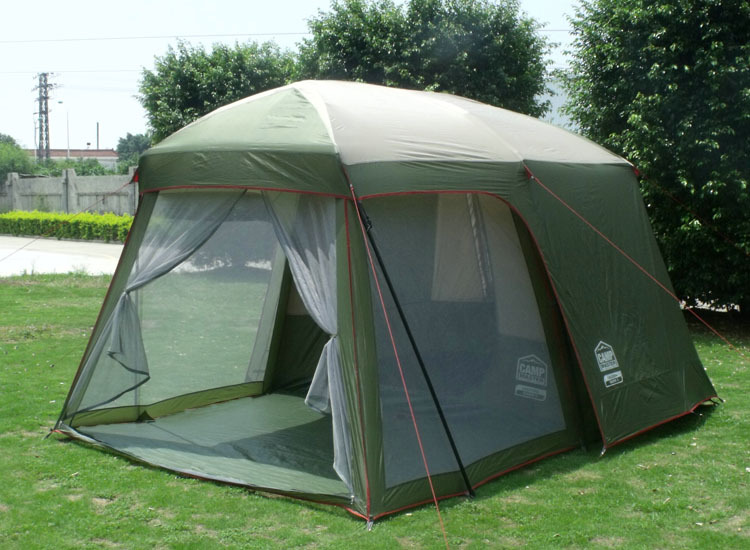 double layer garden tent for free 3 4 person camping tent