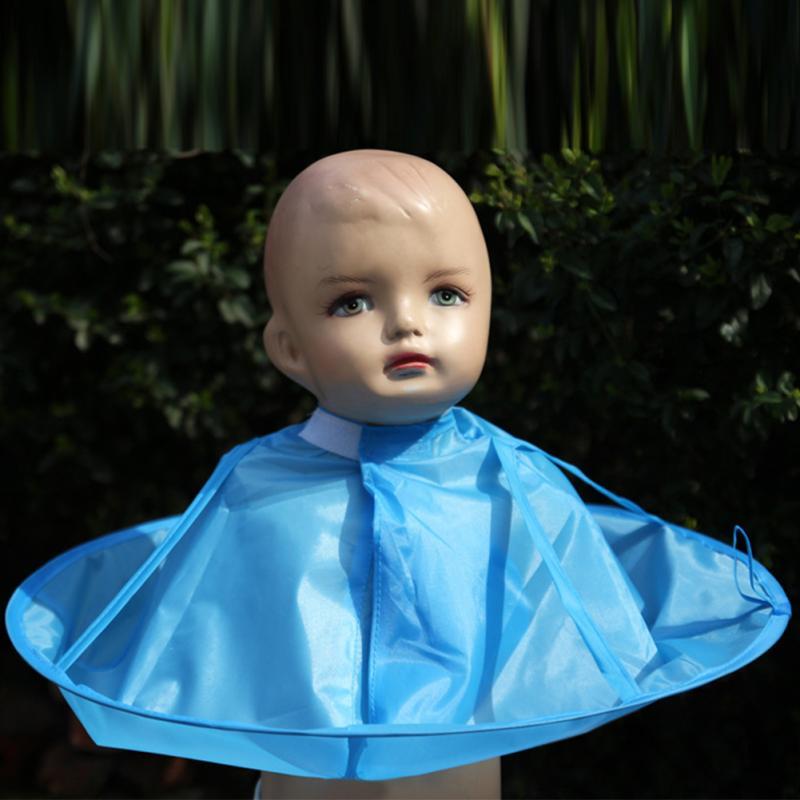 1 шт. Прекрасный Водонепроницаемый Практическая ребенок стрижка кабо платье салон парикмахерская парикмахерская фартук