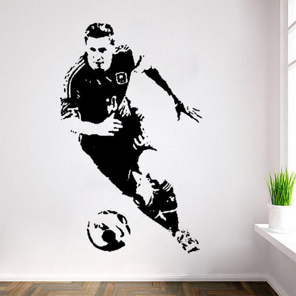 Achetez en gros messi mur en ligne des grossistes messi for Pochoir mural xxl