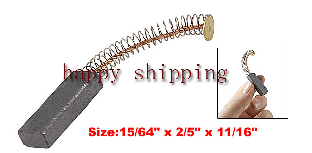 Free shipping Replacement Electric Dust Collector 6mm x 10mm x 30mm Carbon Brush 20pcs(China (Mainland))