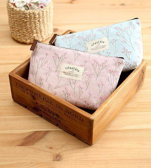 Arrival  Sale Coin Bag Korean Garden Style Small Suihua Makeup Bag Fresh Floral Bulk Bag  WHJCB90025<br><br>Aliexpress