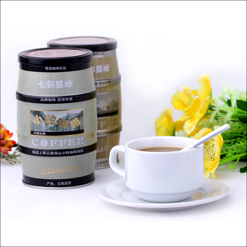 Coffee Product Wholesale Price Yunnan Pure Instant Coffee Arabica Type Latte Flavor Orgainc Slimming Coffee