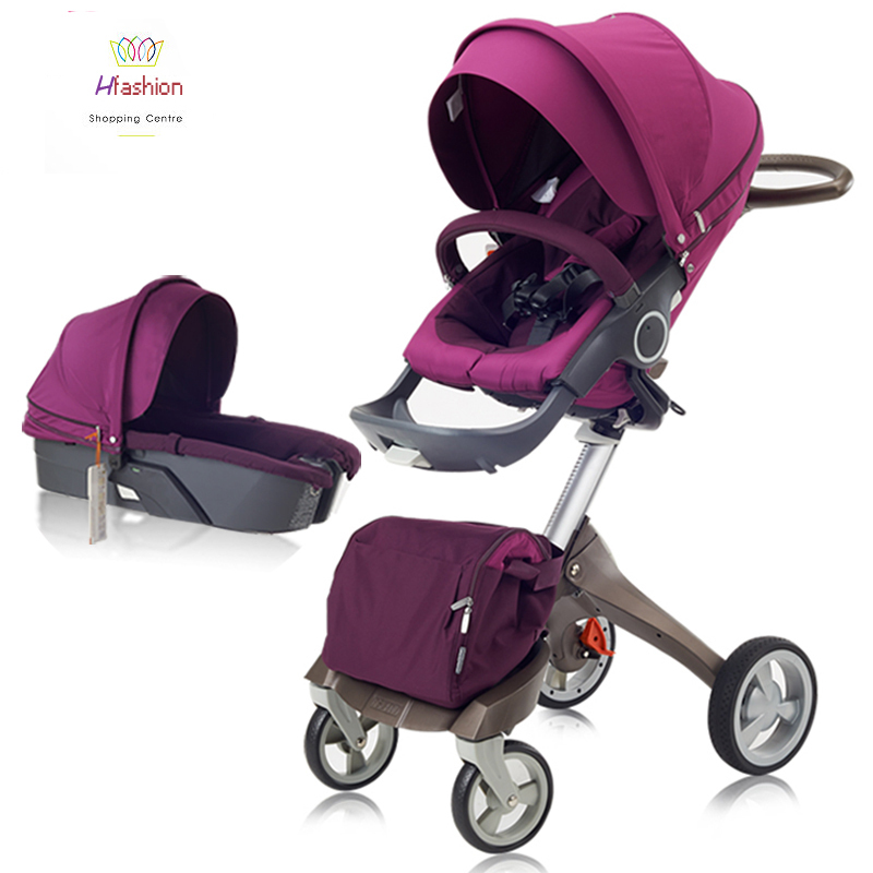 Summer Luxury Baby Stroller Car Seat Bassinet Carrycot