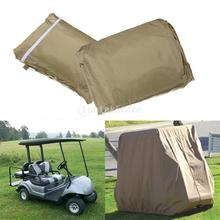 2 Passenger Driving Enclosure Golf Cart Cover for Club Car Cart(China (Mainland))