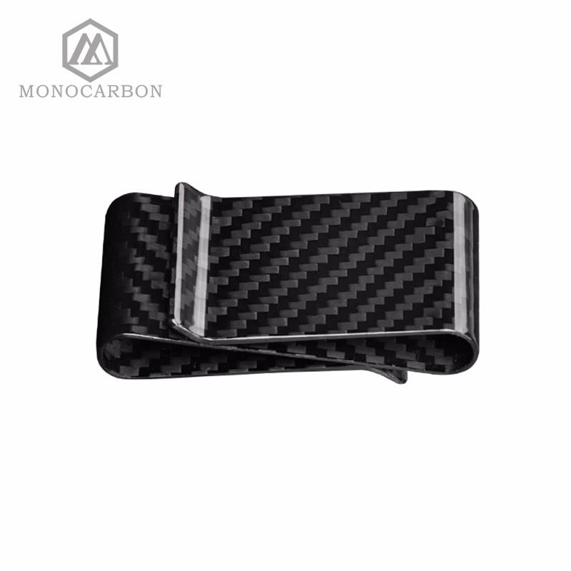 double side carbon fiber money clip (1)