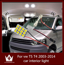 Guang Dian car led light interior dome vanity glove step trunk cargo lamp kit T10 festoon vw T5 T4 2003-2014 - Zhou Guangdian Auto Accessories Firm store