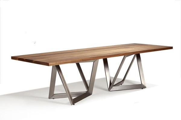 Loft american country muji iron wood furniture wood tables for Cheap long table