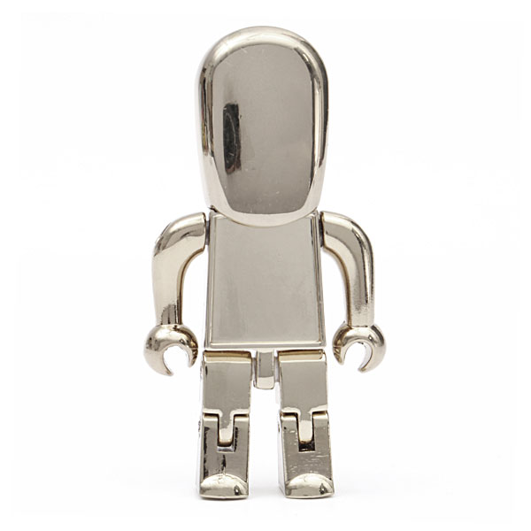 High Speed 16GB 32GB 64GB Usb Flash Drive 3.0 Metal Robot Pendrive 1TB 2TB Pendrives Memory Card Stick Disk On Key 512GB Gift(China (Mainland))