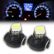 Buy 10x T3 3528 1 SMD 0.7W 8LM Auto Car LED Neo Wedge Bulb Instrument Gauges Dashboard Dash Indicator Light Bulbs White 6000K DC12V for $1.08 in AliExpress store