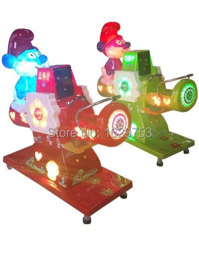 S-K70 Blue spirits See-Saw single player kiddy ride machine(China (Mainland))