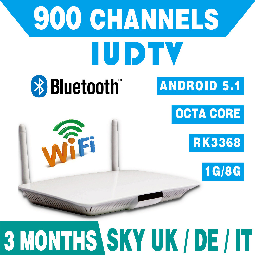Android Tv Box Free Remote Control Q1408 Octa Core Android 5.1 RK3368 + 3 Months Iudtv Free Iptv Service Enjoy 900 Channels<br><br>Aliexpress