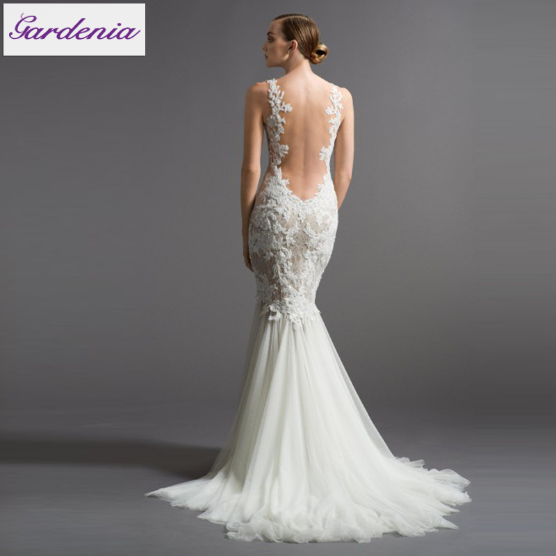 Deep Low Back Wedding Dress : Low back wedding dress with cut hot girls wallpaper