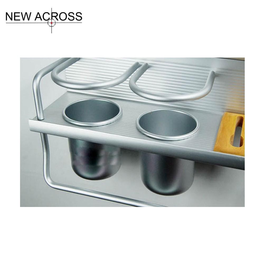 Buy Gohide 1pcs Aluminum Rack Shelves Kitchen Tools Holder Knives Shelf Kitchen Seasoning Bottles Rack Holder Utensils Racks cheap