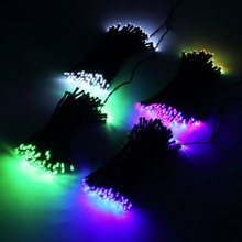 100 LED Outdoor Colorful Solar Lamps LED String Lights Fairy Holiday Christmas Party Garlands Solar Garden Waterproof Lights(China (Mainland))
